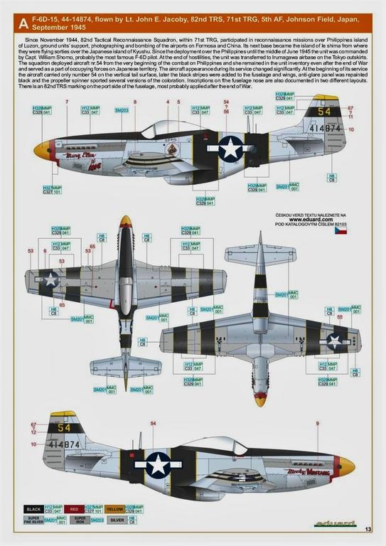 Eduard-82103-F-6-D-26 F-6 D/K Profi-Pack von Eduard in 1:48 #82103