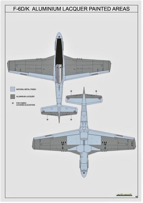 Eduard-82103-F-6-D-32 F-6 D/K Profi-Pack von Eduard in 1:48 #82103