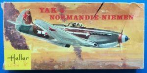 Kit-Archäologie: Yak-3 Normandie-Niemen in 1:72 von HELLER # L 060