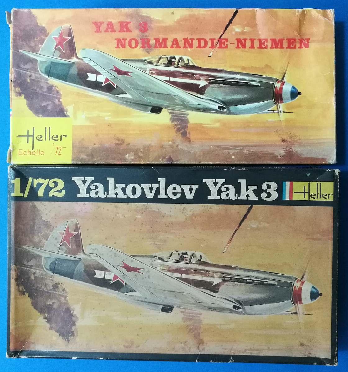 HELLER-L-090-Yak-3-Normandie-Niemen-4 Kit-Archäologie: Yak-3 Normandie-Niemen in 1:72 von HELLER # L 060