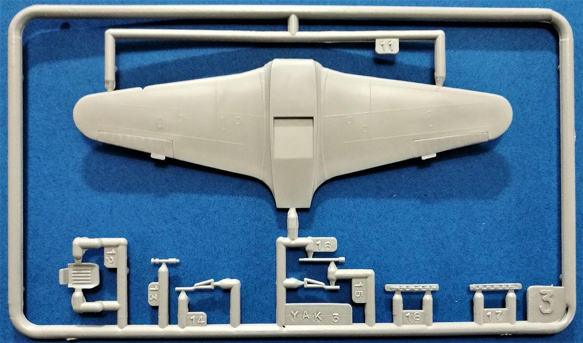 HELLER-L-090-Yak-3-Normandie-Niemen-6 Kit-Archäologie: Yak-3 Normandie-Niemen in 1:72 von HELLER # L 060