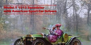 Ford Model T Speedster with American Sports Car Drivers in 1:24 von ICM #24026