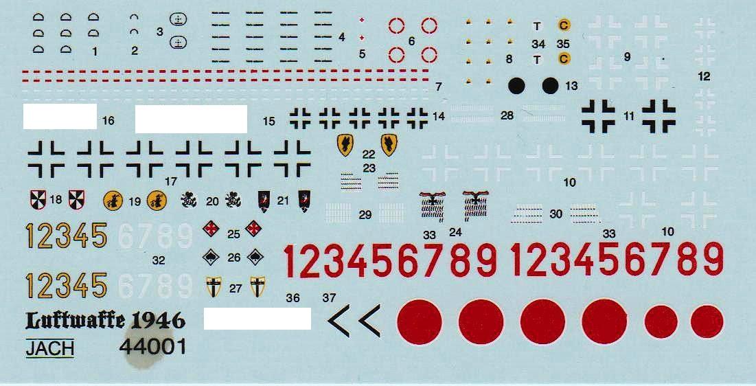 JACH-44104-und-44105-Lippisch-P.20-1zu144-14 Lippisch P.20 in 1:144 von JACH #44104 und 44105