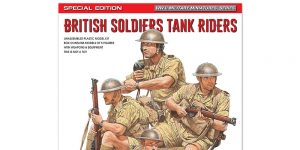 British soldiers tankriders in 1:35 von MiniArt # 35299