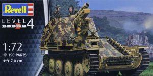 Sturmpanzer Grille Ausf. M in 1:72 von Revell # 03315