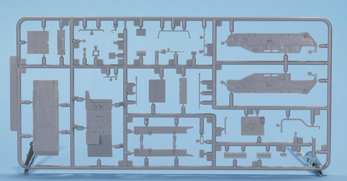 Revell-03315-Grille-Ausf.-M-Rahmen-A-1 Sturmpanzer Grille Ausf. M in 1:72 von Revell # 03315