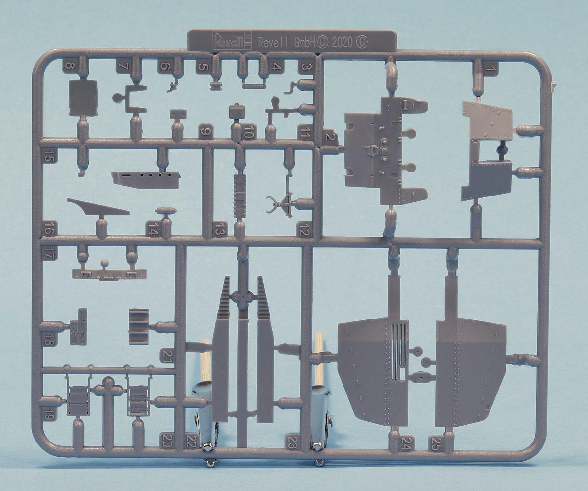 Revell-03315-Grille-Ausf.-M-Rahmen-C Sturmpanzer Grille Ausf. M in 1:72 von Revell # 03315