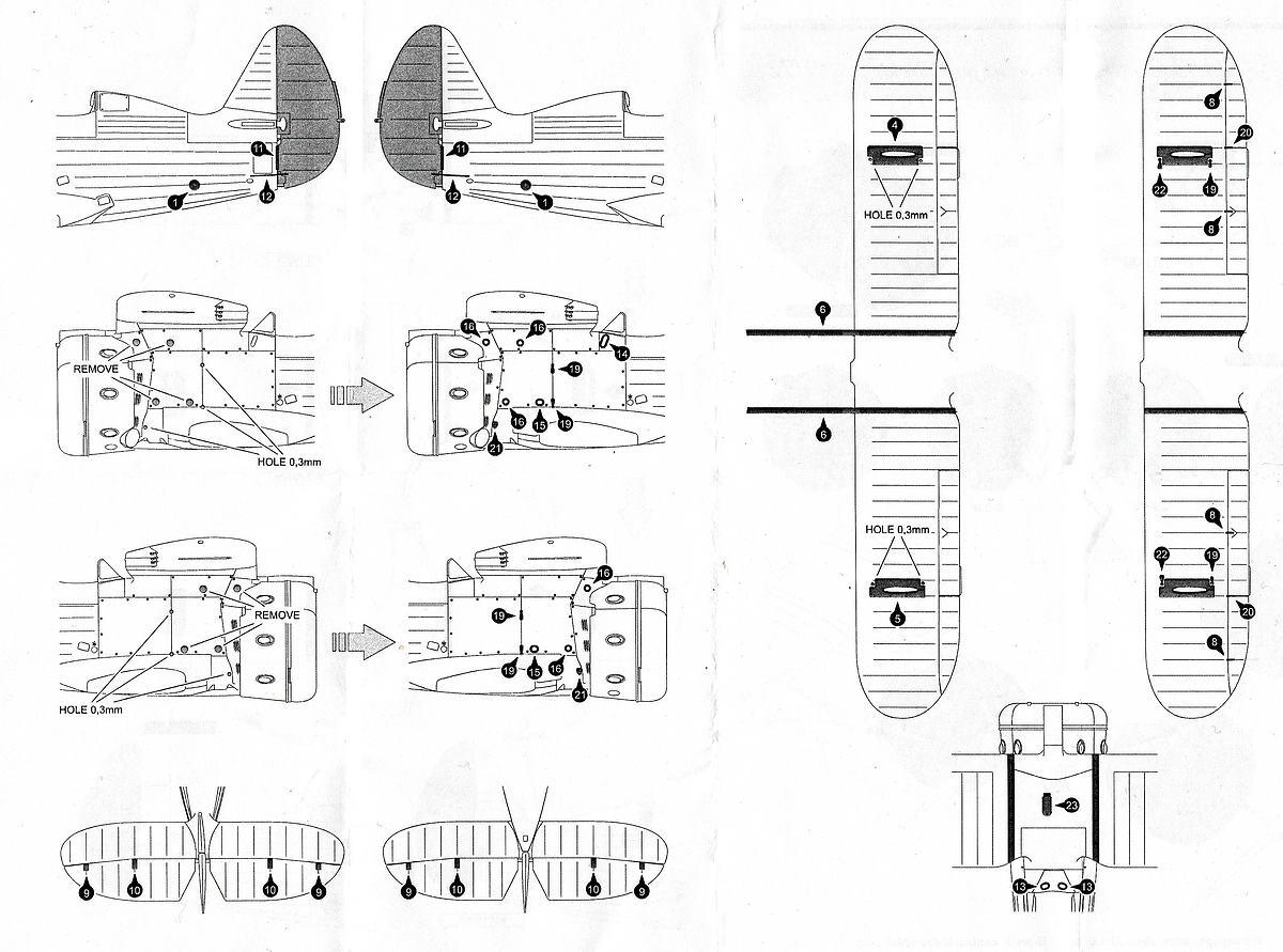 S.B.S.-Model-72034-Polikarpov-I-153-Cowling-and-Exterior-Set-3 Polikarpov I-153 Cowling & Exterior in 1:72 von S.B.S. Model # 72034