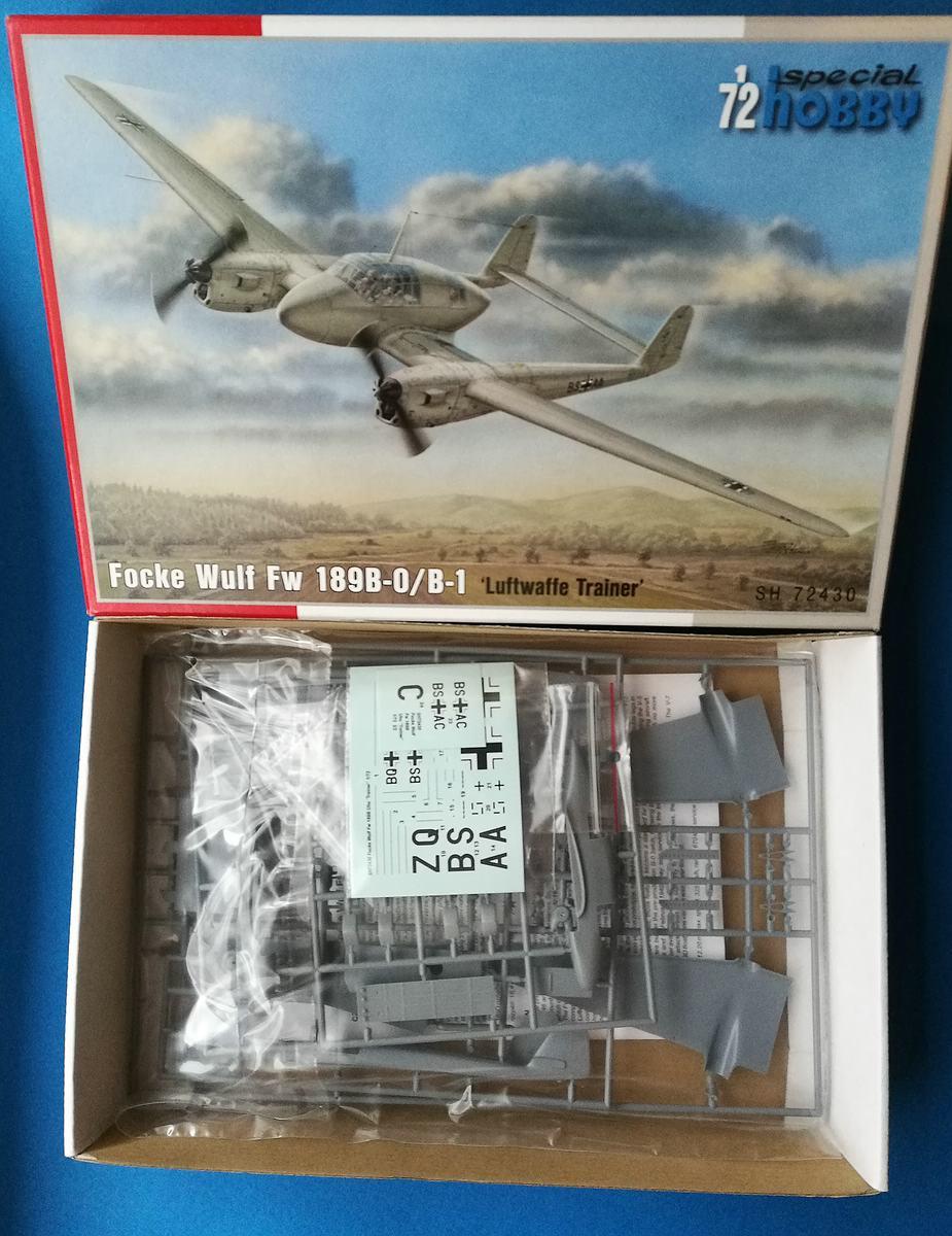 Special-Hobby-SH-72430-FW-189-B-0-Luftwaffe-Trainer-1 FW 189 B-0 / B-1 Luftwaffe Trainer in 1:72 von Special Hobby # SH 72430