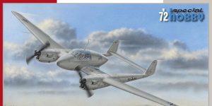 FW 189 B-0 / B-1 Luftwaffe Trainer in 1:72 von Special Hobby # SH 72430