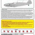 AZ-Model-7660-Bf-109-E-3-over-Spain-Bauanleitung1-150x150 Messerschmitt Bf 109 E-3 over Spain in 1:72 von AZ Model # 7660