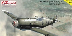 Messerschmitt Bf 109 E-3 over Spain in 1:72 von AZ Model # 7660