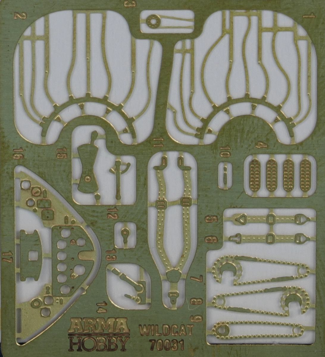 Arma-Hobby-70031-FM-2-Wildcat-26 FM-2 Wildcat in 1:72 von Arma Hobby # 70031