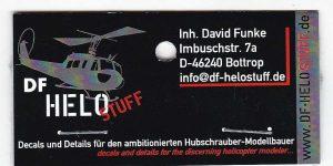 Helicopter Seat Belts in 3D-Druck von DF Helo Stuff