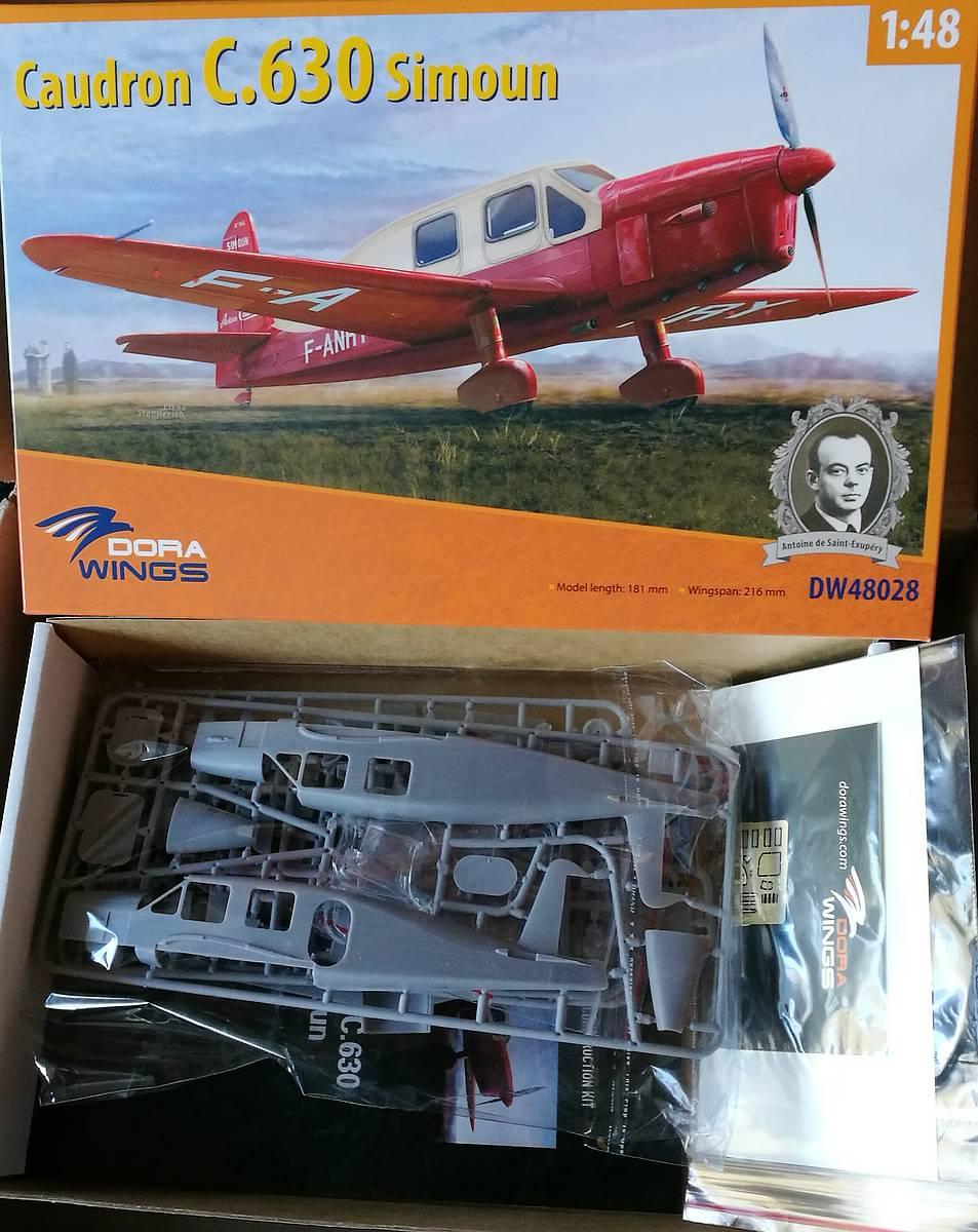 DoraWings-DW-48028-Caudron-C.630-Simoun-1 Caudron C.630 Simoun in 1:48 von Dora Wings #DW 48028