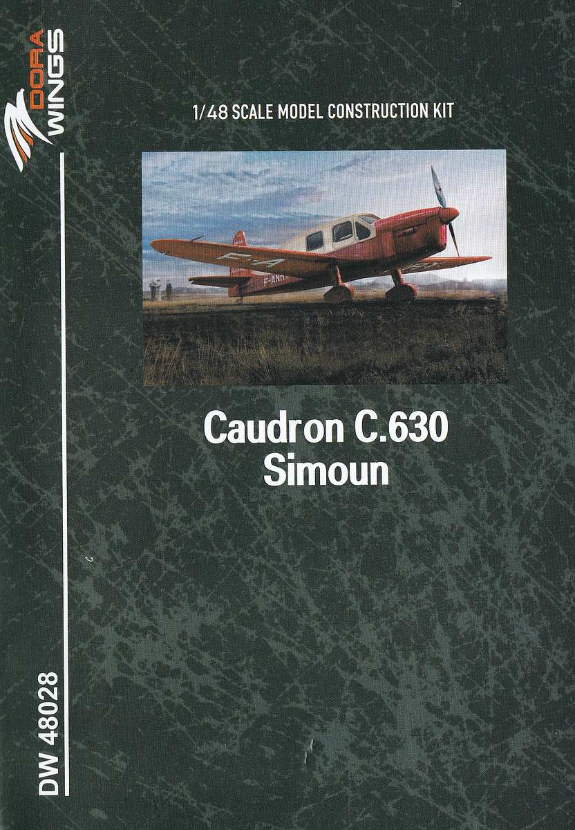 DoraWings-DW-48028-Caudron-C.630-Simoun-13 Caudron C.630 Simoun in 1:48 von Dora Wings #DW 48028