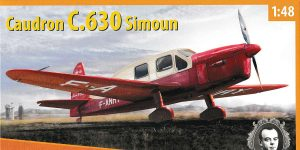 Caudron C.630 Simoun in 1:48 von Dora Wings #DW 48028