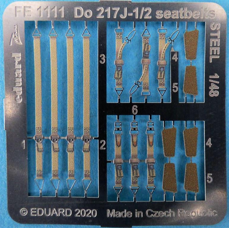 EDuard-Zubehoer-Do-217-6 Details für ICM Do 217 J von Eduard in 1:48 #FE1110 #FE1111 #EX704 #481027