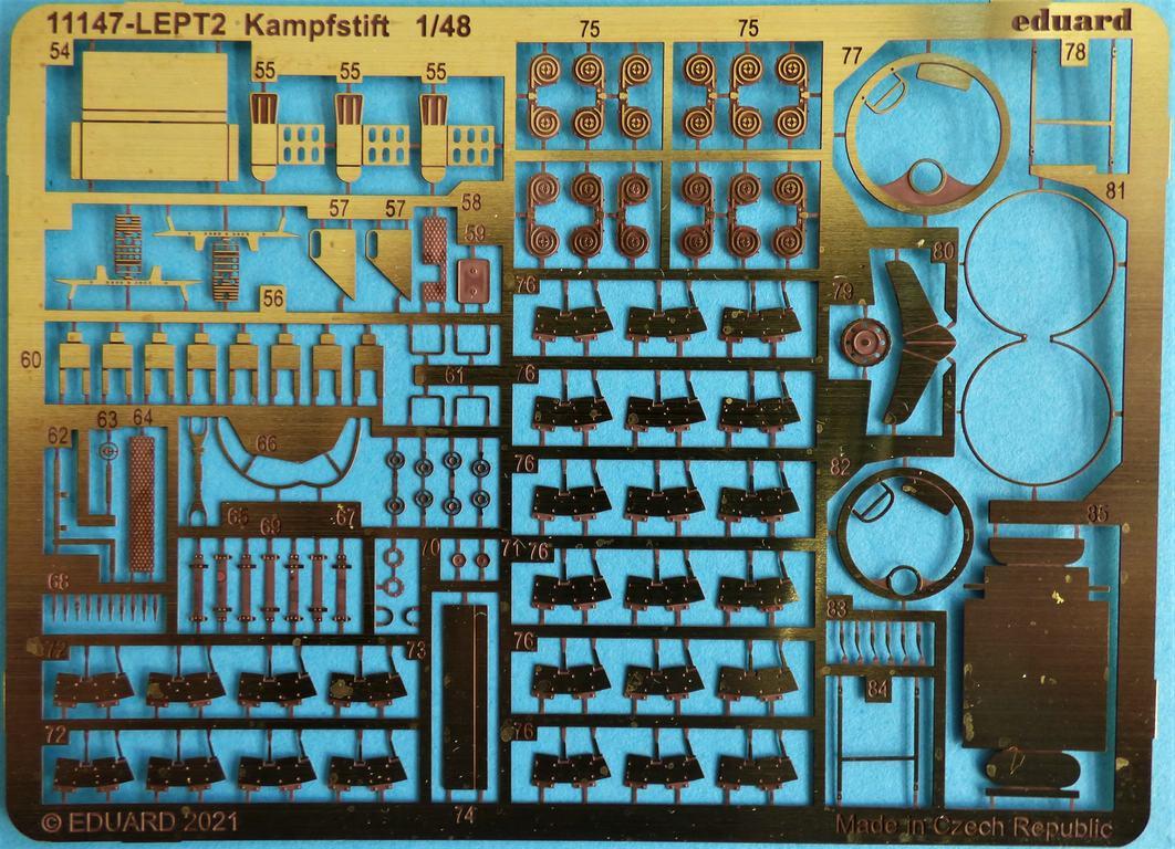 """Eduard-11147-Kampfstift-12 Der """"Kampfstift"""" die Do 17 Z, eine Limited Edition von Eduard aus den Formen von ICM in 1:48 #11147"""