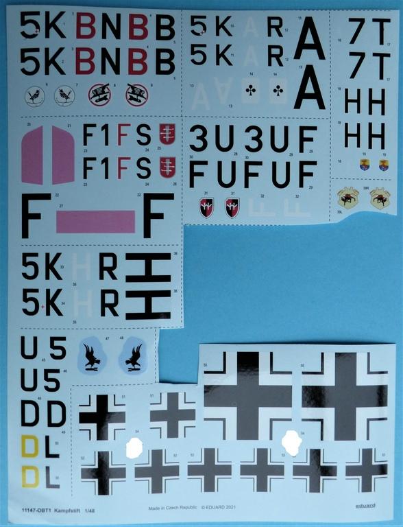 """Eduard-11147-Kampfstift-15 Der """"Kampfstift"""" die Do 17 Z, eine Limited Edition von Eduard aus den Formen von ICM in 1:48 #11147"""
