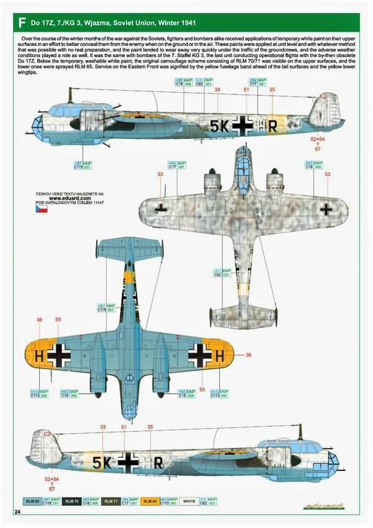 """Eduard-11147-Kampfstift-40 Der """"Kampfstift"""" die Do 17 Z, eine Limited Edition von Eduard aus den Formen von ICM in 1:48 #11147"""