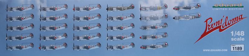 Eduard-1189-La-5-La-7-Combo-1 La-5FN und La-7 in 1:48 von Eduard #1189