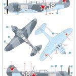 Eduard-1189-La-5FN-La-7-Markierungen-7-150x150 La-5FN und La-7 in 1:48 von Eduard #1189