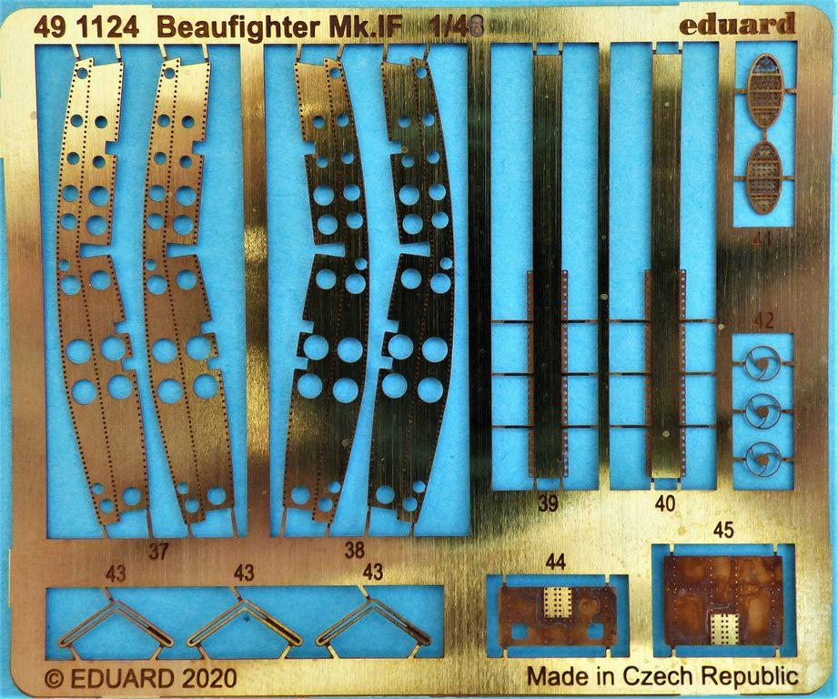 Eduard-491124-Beaufighter-von-Revell-2 Ätzteile und Masken für Revells Baufighter Mk. IF von Eduard in 1:48 #491124 und #EX726