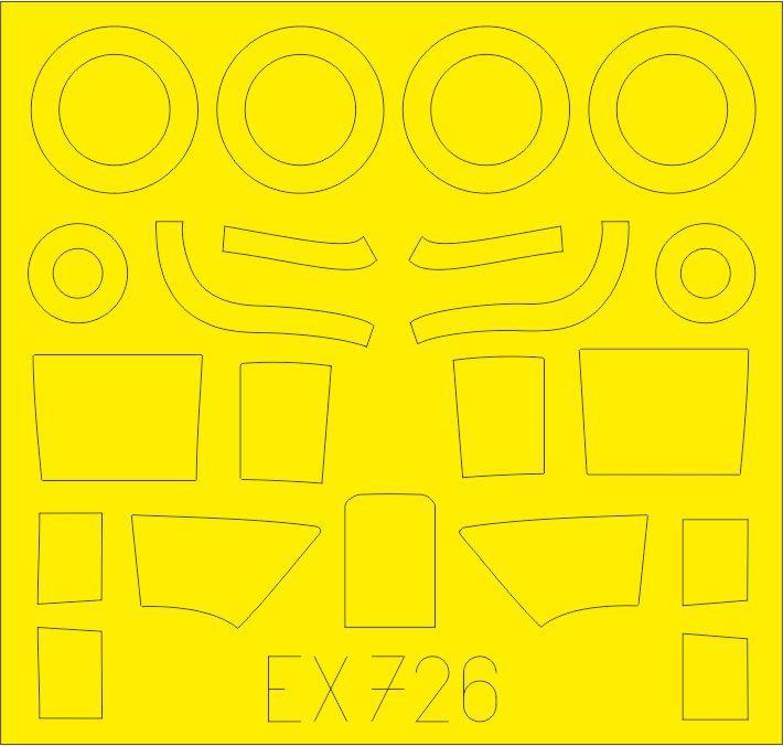 Eduard-491124-Beaufighter-von-Revell-8 Ätzteile und Masken für Revells Baufighter Mk. IF von Eduard in 1:48 #491124 und #EX726