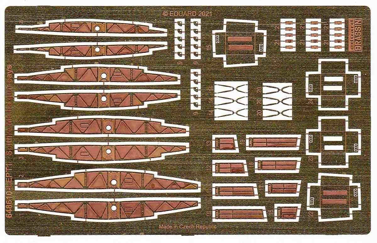 Eduard-648610-Spitfire-Mk.-IIa-gun-bays-13 Spitfire Mk. II gun bays in 1:48 von Eduard #648610 und 611