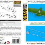 Eduard-672253-Z-37A-Spraying-booms-Bauanleitung-1-150x150 Z-37A Spraying booms in 1:72 von Eduard #672253