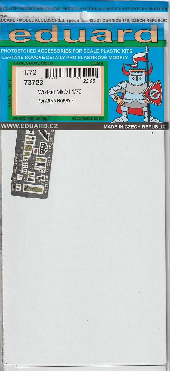Eduard-73723-Wildcat-fuer-Arma-Hobby-1 Zubehör für die Arma Hobby Wildcat in 1:72 von Eduard