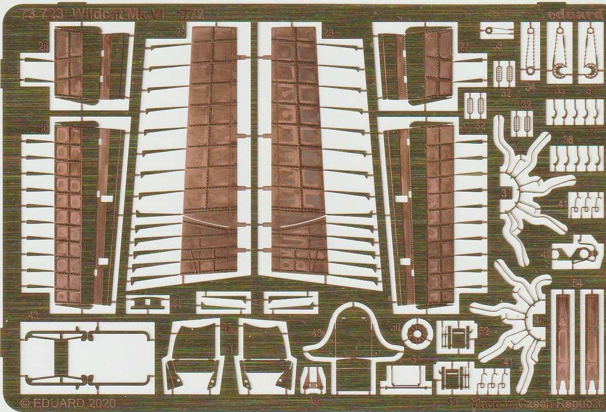 Eduard-73723-Wildcat-fuer-Arma-Hobby-2 Zubehör für die Arma Hobby Wildcat in 1:72 von Eduard