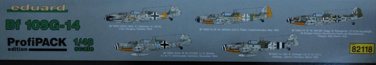 Eduard-82118-Bf-109-G-14-ProfiPack-2 Messerschmitt Bf 109 G-14 von Eduard in 1:48 #82118