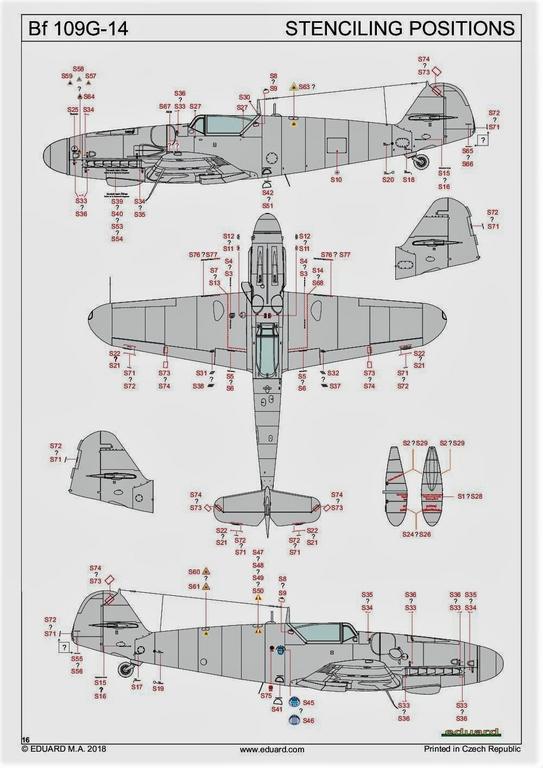 Eduard-82118-Bf-109-G-14-ProfiPack-8 Messerschmitt Bf 109 G-14 von Eduard in 1:48 #82118