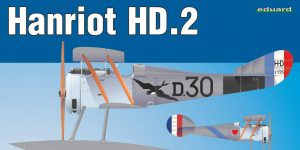 Hanriot HD.2 in 1:48 von Eduard #8413