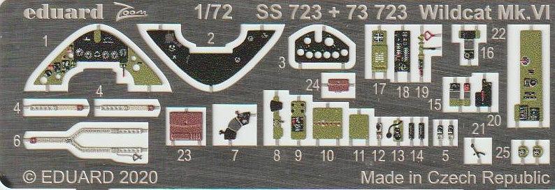 Eduard-SS-723-Wildcat-fuer-Arma-Hobby-ZOOM-2 Zubehör für die Arma Hobby Wildcat in 1:72 von Eduard