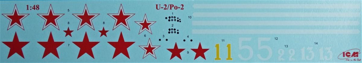 ICM-48251-Po-2-34 Polikarpov Po 2 / U-2 in 1:48 von # 48251