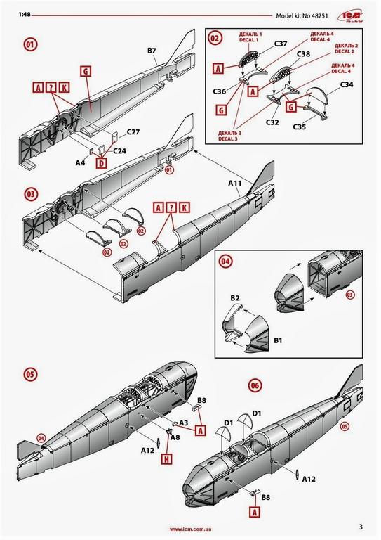 ICM-48251-Po-2-37 Polikarpov Po 2 / U-2 in 1:48 von # 48251