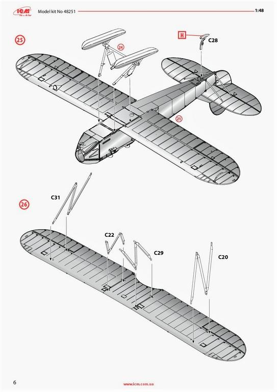 ICM-48251-Po-2-40 Polikarpov Po 2 / U-2 in 1:48 von # 48251