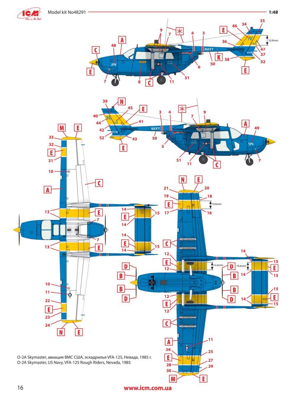 ICM-48291-O-2A-US-Navy-16 O-2A Navy in 1:48 von ICM #48291