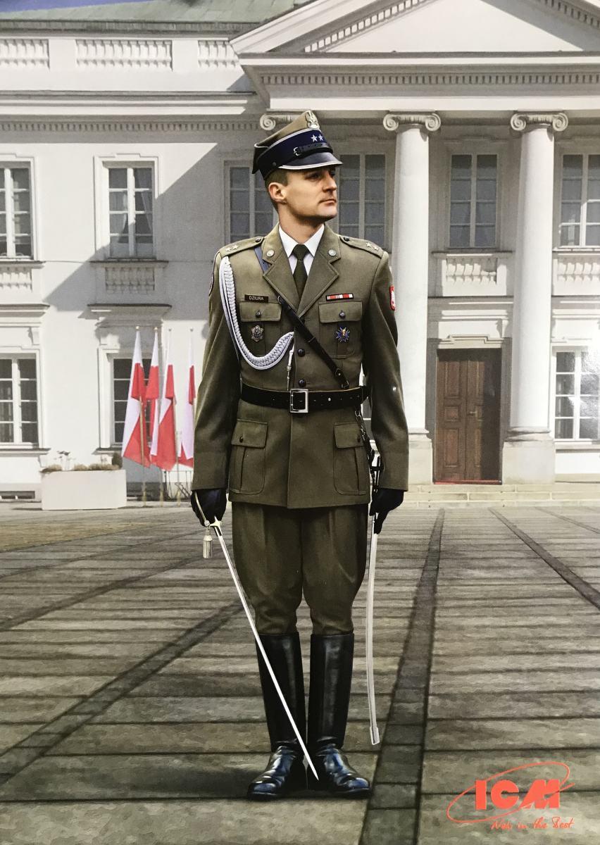 ICM_16010_Polish_Regiment_Officer_02 POLISH REGIMENT REPRESENTATIVE OFFICER IN 1:16 VON ICM # 16010