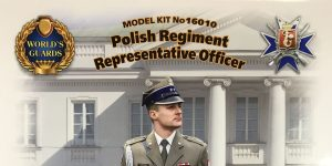 POLISH REGIMENT REPRESENTATIVE OFFICER IN 1:16 VON ICM # 16010