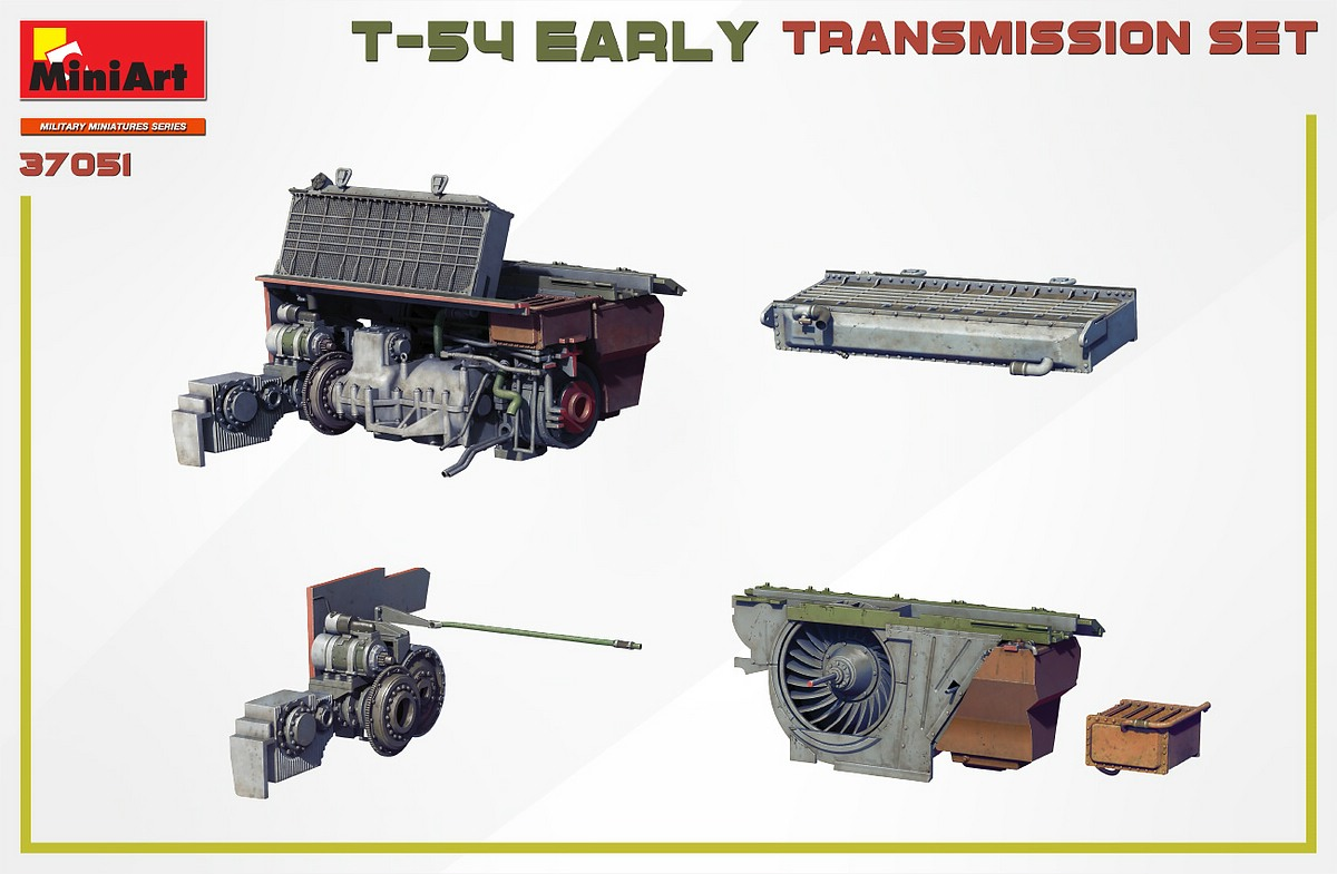 MIniArt-37051-T-54-early-Transmission-Set-4 T-54 early Transmission Set in 1:35 von MiniArt #37051