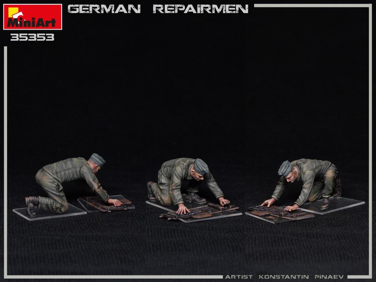 MiniArt-35353-German-Repairmen-12 Neuer MiniArt-Bausatz: German Repairmen in 1:35