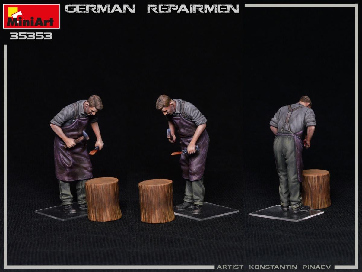 MiniArt-35353-German-Repairmen-13 Neuer MiniArt-Bausatz: German Repairmen in 1:35