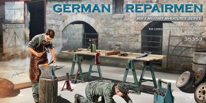 Neuer MiniArt-Bausatz: German Repairmen in 1:35