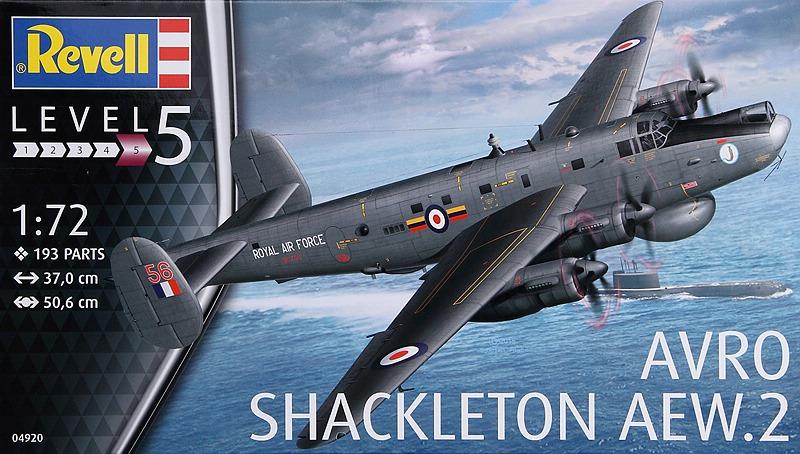 Revell-03873-Avro-Shackleton-MR-48 Avro Shackleton MR.3 in 1/72 von Revell #03873