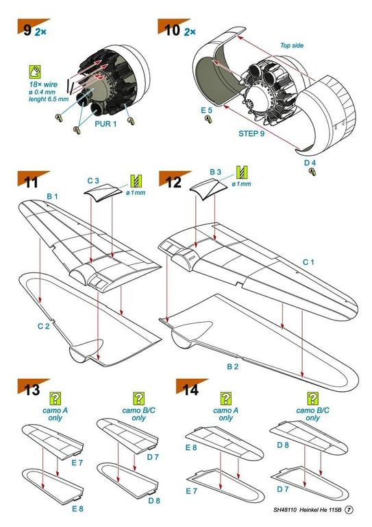 Special-Hobby-SH-48110-Heinkel-He-115-B-2-62 Heinkel He-115B von Special Hobby in 1:48 #48110