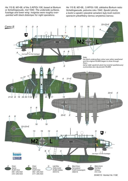 Special-Hobby-SH-48110-Heinkel-He-115-B-2-70 Heinkel He-115B von Special Hobby in 1:48 #48110